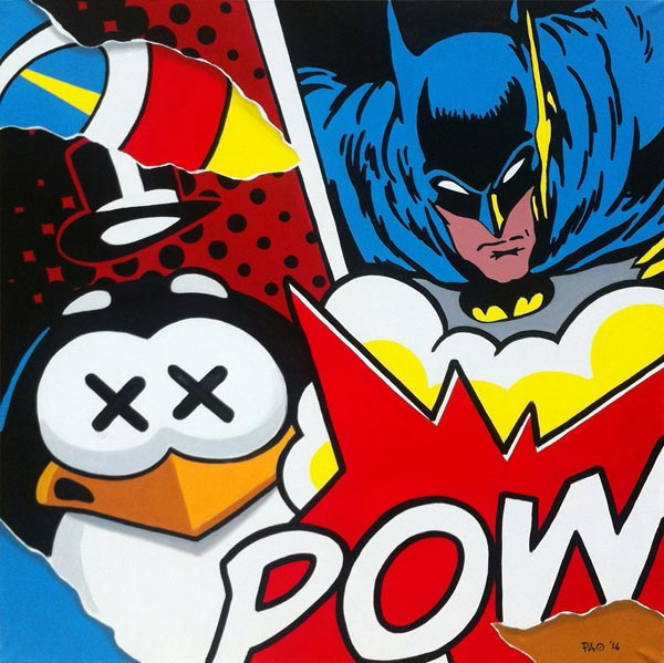 Batman vs Penguin
