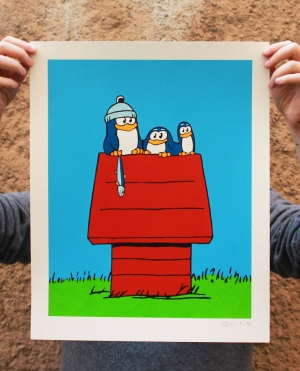 Serigrafia Snoopy